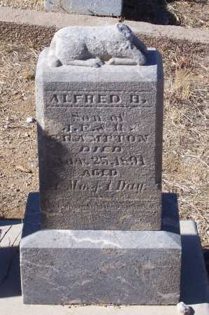 CRAMPTON, ALFRED B. - Gila County, Arizona | ALFRED B. CRAMPTON - Arizona Gravestone Photos