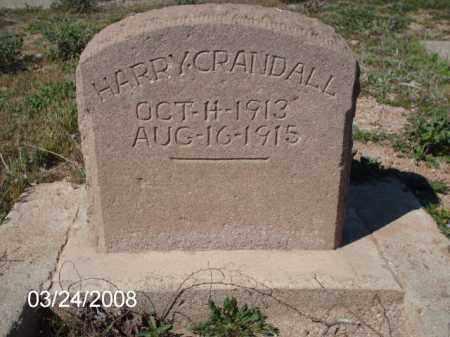 CRANDALL, HARRY - Gila County, Arizona | HARRY CRANDALL - Arizona Gravestone Photos