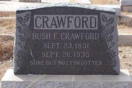 CRAWFORD, BUSH F. - Gila County, Arizona   BUSH F. CRAWFORD - Arizona Gravestone Photos