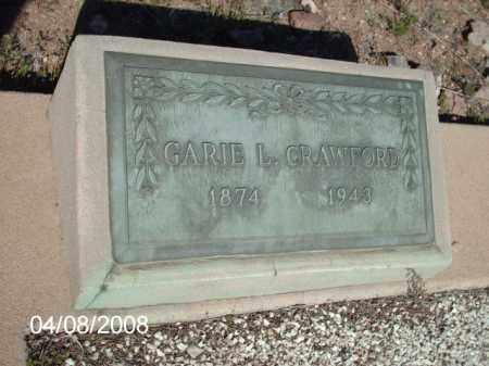 CRAWFORD, GARIE L. - Gila County, Arizona   GARIE L. CRAWFORD - Arizona Gravestone Photos