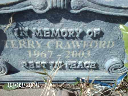 CRAWFORD, TERRY - Gila County, Arizona | TERRY CRAWFORD - Arizona Gravestone Photos