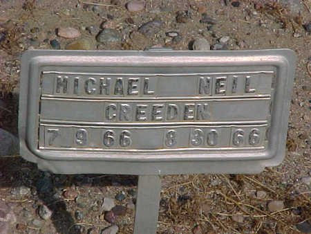 CREEDEN, MICHAEL NEIL - Gila County, Arizona | MICHAEL NEIL CREEDEN - Arizona Gravestone Photos