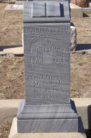 CRESWELL, ELLEN J. - Gila County, Arizona | ELLEN J. CRESWELL - Arizona Gravestone Photos