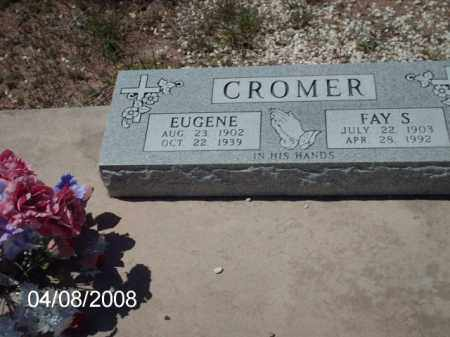 CROMER, FAY S. - Gila County, Arizona | FAY S. CROMER - Arizona Gravestone Photos