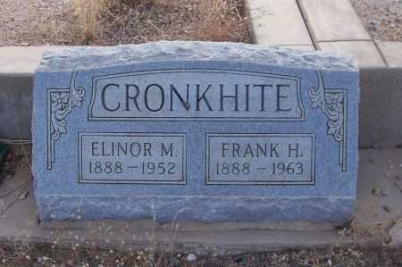 CRONKHITE, FRANK H. - Gila County, Arizona   FRANK H. CRONKHITE - Arizona Gravestone Photos