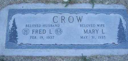 CROW, MARY - Gila County, Arizona | MARY CROW - Arizona Gravestone Photos