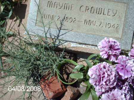 CROWLEY, MAYME - Gila County, Arizona | MAYME CROWLEY - Arizona Gravestone Photos