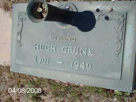 CRUNK, HUGH - Gila County, Arizona | HUGH CRUNK - Arizona Gravestone Photos