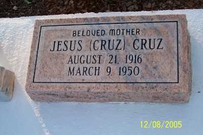 CRUZ, JESUS - Gila County, Arizona | JESUS CRUZ - Arizona Gravestone Photos