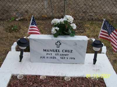 CRUZ, MANUEL  C. - Gila County, Arizona | MANUEL  C. CRUZ - Arizona Gravestone Photos
