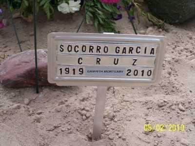 GARCIA CRUZ, SOCORRO - Gila County, Arizona | SOCORRO GARCIA CRUZ - Arizona Gravestone Photos