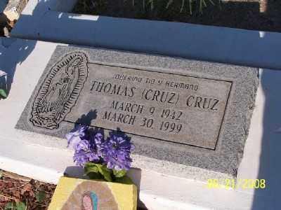 CRUZ, THOMAS C. - Gila County, Arizona | THOMAS C. CRUZ - Arizona Gravestone Photos
