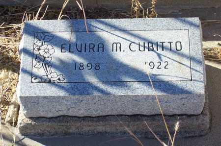 CUBITTO, ELVIRA M. - Gila County, Arizona | ELVIRA M. CUBITTO - Arizona Gravestone Photos