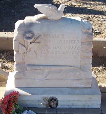 CUBITTO, MARIA B. - Gila County, Arizona   MARIA B. CUBITTO - Arizona Gravestone Photos