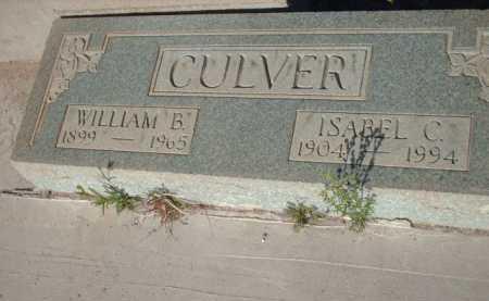 CULVER, WILLIAM B. - Gila County, Arizona | WILLIAM B. CULVER - Arizona Gravestone Photos