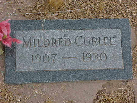 CURLEE, MILDRED - Gila County, Arizona | MILDRED CURLEE - Arizona Gravestone Photos