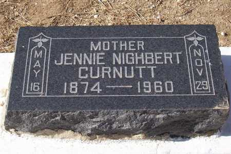 CURNUTT, JENNIE - Gila County, Arizona | JENNIE CURNUTT - Arizona Gravestone Photos
