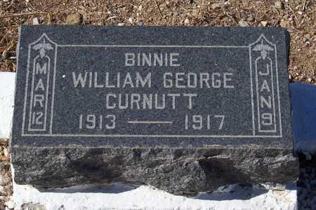 CURNUTT, WILLIAM GEORGE - Gila County, Arizona | WILLIAM GEORGE CURNUTT - Arizona Gravestone Photos