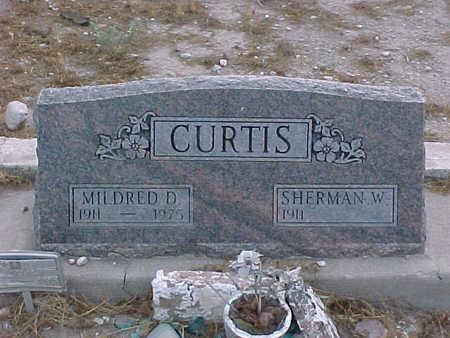 CURTIS, SHERMAN W. - Gila County, Arizona | SHERMAN W. CURTIS - Arizona Gravestone Photos