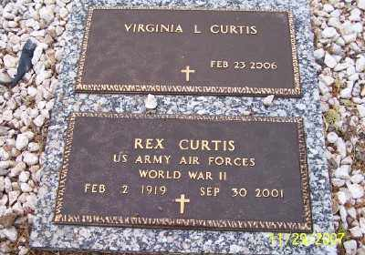 CURTIS, REX - Gila County, Arizona | REX CURTIS - Arizona Gravestone Photos
