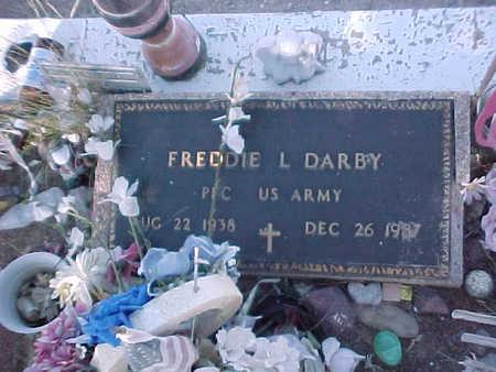DARBY, FREDDIE L. - Gila County, Arizona | FREDDIE L. DARBY - Arizona Gravestone Photos