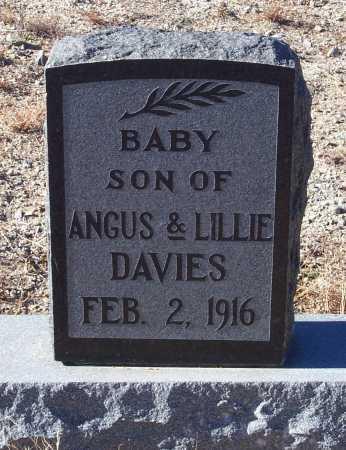 DAVIES, BABY - Gila County, Arizona   BABY DAVIES - Arizona Gravestone Photos