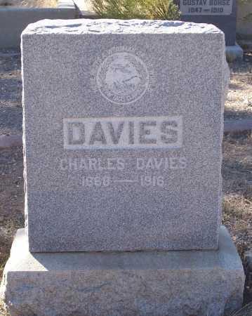 DAVIES, CHARLES - Gila County, Arizona | CHARLES DAVIES - Arizona Gravestone Photos