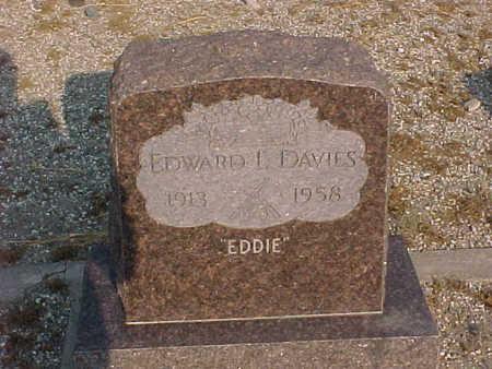 DAVIES, EDWARD  L. - Gila County, Arizona   EDWARD  L. DAVIES - Arizona Gravestone Photos