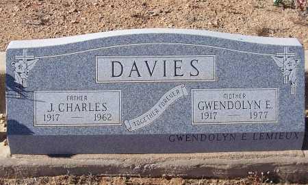 DAVIES, J. CHARLES - Gila County, Arizona | J. CHARLES DAVIES - Arizona Gravestone Photos
