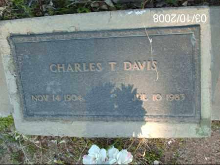 DAVIS, CHARLES - Gila County, Arizona | CHARLES DAVIS - Arizona Gravestone Photos