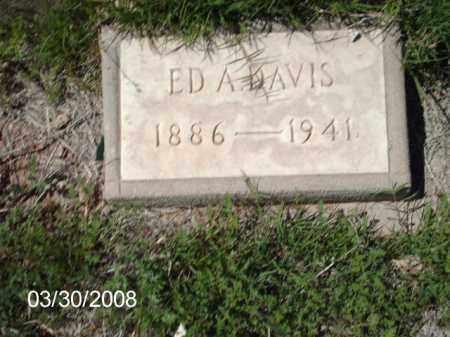 DAVIS, EDA - Gila County, Arizona | EDA DAVIS - Arizona Gravestone Photos