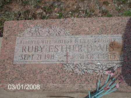 DAVIS, RUBY - Gila County, Arizona | RUBY DAVIS - Arizona Gravestone Photos