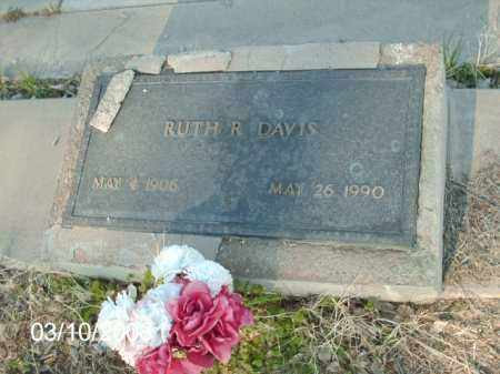 DAVIS, RUTH R. - Gila County, Arizona   RUTH R. DAVIS - Arizona Gravestone Photos