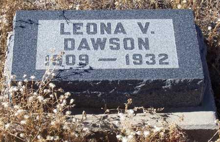 DAWSON, LEONA V. - Gila County, Arizona | LEONA V. DAWSON - Arizona Gravestone Photos