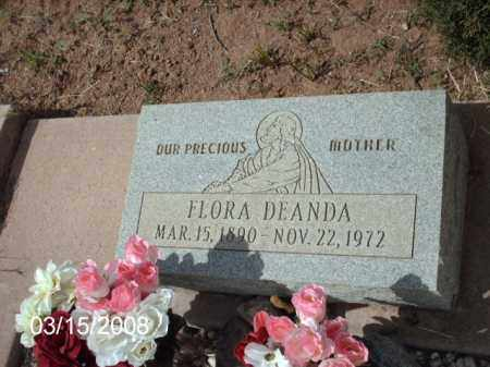 DEANDA, FLORA - Gila County, Arizona | FLORA DEANDA - Arizona Gravestone Photos