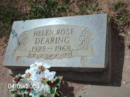 DEARING, HELEN ROSE - Gila County, Arizona | HELEN ROSE DEARING - Arizona Gravestone Photos