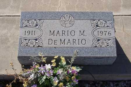 DEMARIO, MARIO - Gila County, Arizona   MARIO DEMARIO - Arizona Gravestone Photos