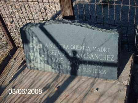 DESANCHEZ, JOSEFA - Gila County, Arizona   JOSEFA DESANCHEZ - Arizona Gravestone Photos