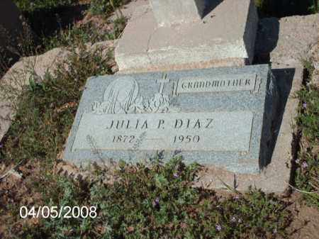 DIAZ, JULIA P. - Gila County, Arizona | JULIA P. DIAZ - Arizona Gravestone Photos