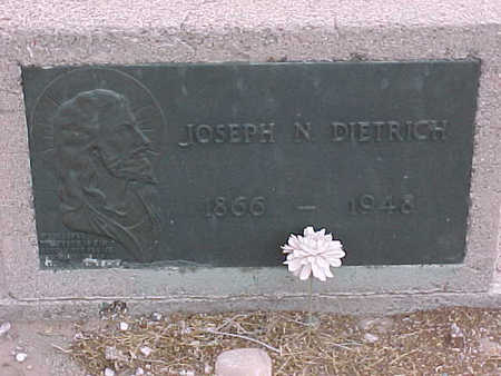 DIETRICH, JOSEPH  N. - Gila County, Arizona   JOSEPH  N. DIETRICH - Arizona Gravestone Photos