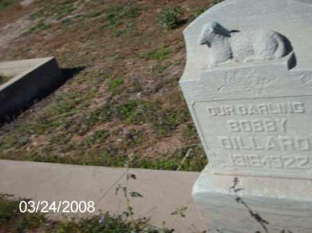 DILLARD, BOBBY - Gila County, Arizona | BOBBY DILLARD - Arizona Gravestone Photos