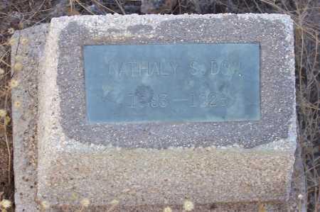 DOW, NATHALY S. - Gila County, Arizona | NATHALY S. DOW - Arizona Gravestone Photos