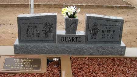 DUARTE, MARY  P. - Gila County, Arizona   MARY  P. DUARTE - Arizona Gravestone Photos