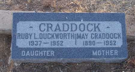 CRADDOCK DUCKWORTH, RUBY L. - Gila County, Arizona | RUBY L. CRADDOCK DUCKWORTH - Arizona Gravestone Photos