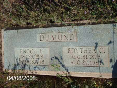 DUMUND, EDYTHEA C. - Gila County, Arizona | EDYTHEA C. DUMUND - Arizona Gravestone Photos