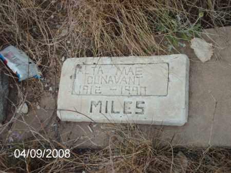 DUNAVANT, ALTA - Gila County, Arizona | ALTA DUNAVANT - Arizona Gravestone Photos