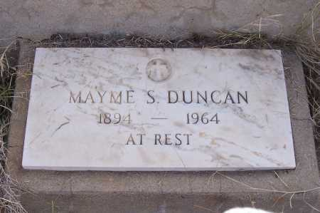 DUNCAN, MAYME S. - Gila County, Arizona | MAYME S. DUNCAN - Arizona Gravestone Photos