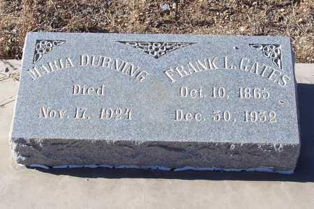 GATES, FRANK L. - Gila County, Arizona | FRANK L. GATES - Arizona Gravestone Photos