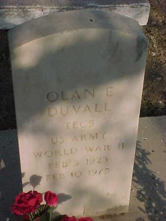DUVALL, OLAN  E. - Gila County, Arizona | OLAN  E. DUVALL - Arizona Gravestone Photos