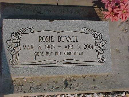 DUVALL, ROSIE - Gila County, Arizona | ROSIE DUVALL - Arizona Gravestone Photos